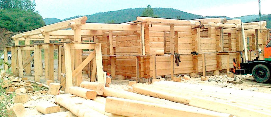 строительство деревянный дом москва