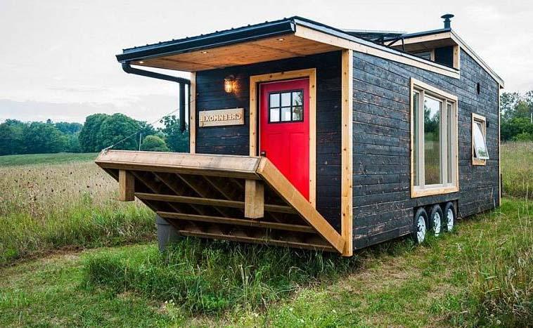 мини дом на колесах