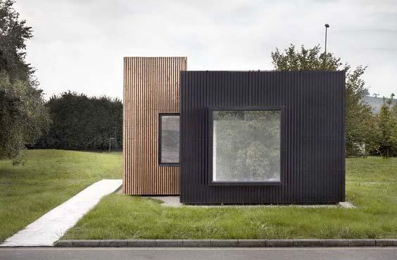 современный мини дом