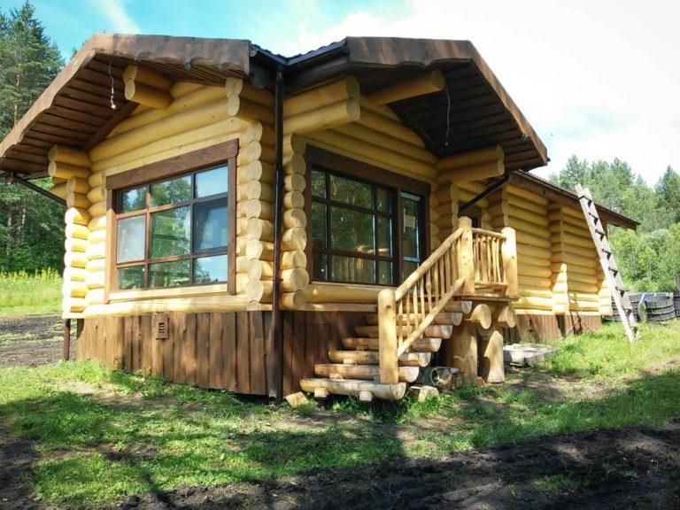 дом деревянный